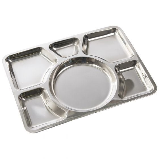 Mil-Tec Sixfold Stainless Steel Canteen Plate