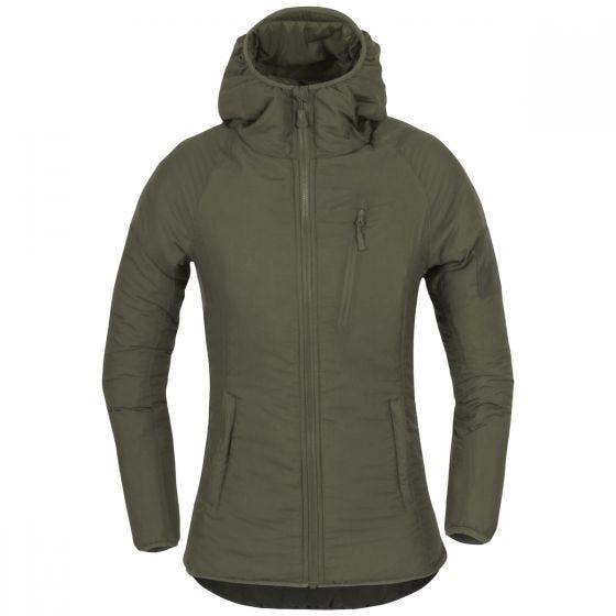 Helikon Women's Wolfhound Hoodie Jacket Taiga Green