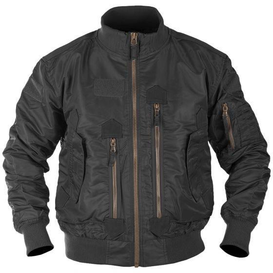 Mil-Tec US Tactical Flight Jacket Black
