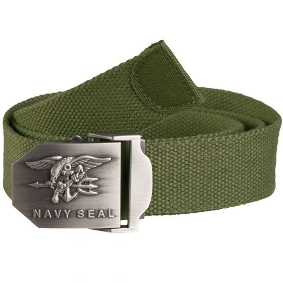 Mil-Tec US Navy Seal Belt 38mm Olive