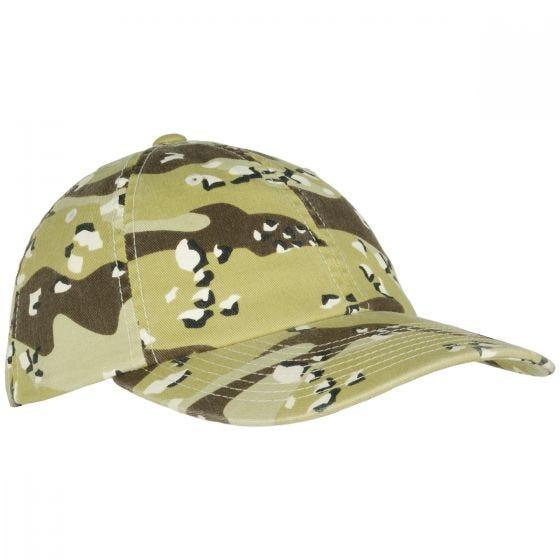 YP Low Profile Camo Washed Cap 6-Colour Desert