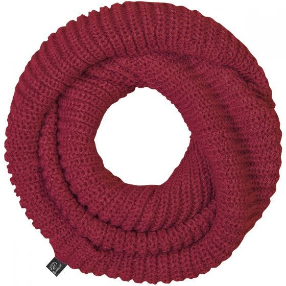 Brandit Scarf Loop Knitted Bordeaux