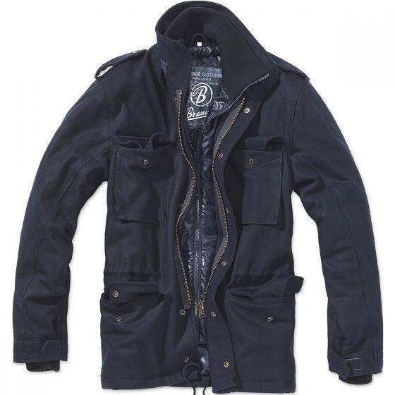 Brandit M-65 Voyager Wool Jacket Navy