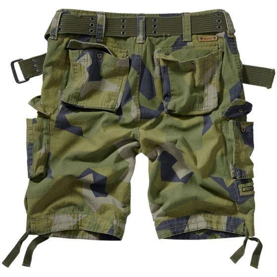 Brandit Savage Vintage Shorts Swedish Camo M90