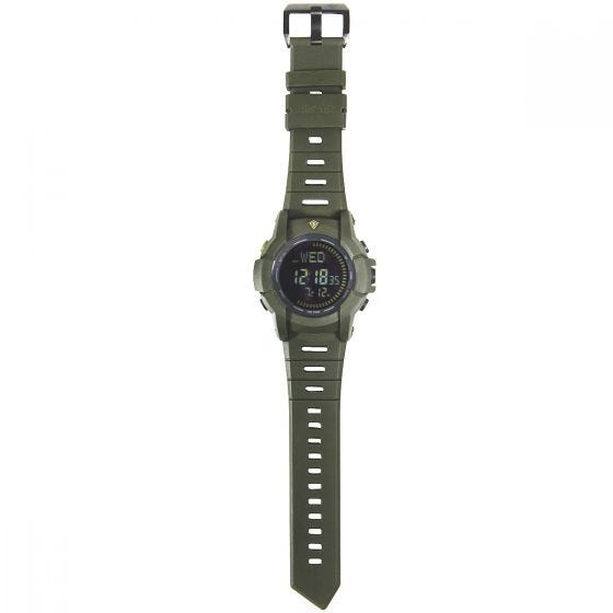 First Tactical Canyon Digital Compass Watch OD Green
