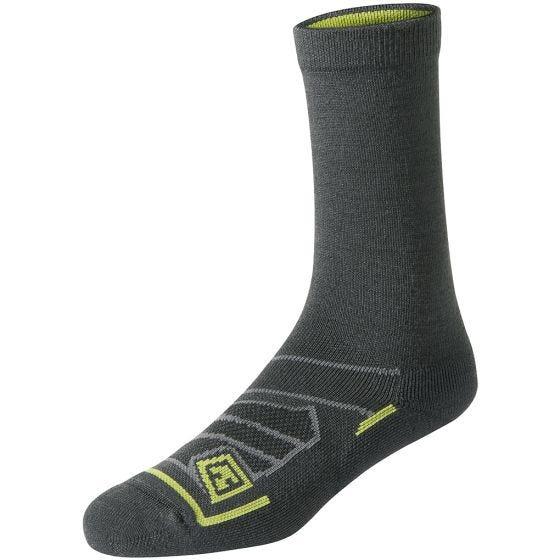 "First Tactical All Season Merino Wool 6"" Socks Charcoal"