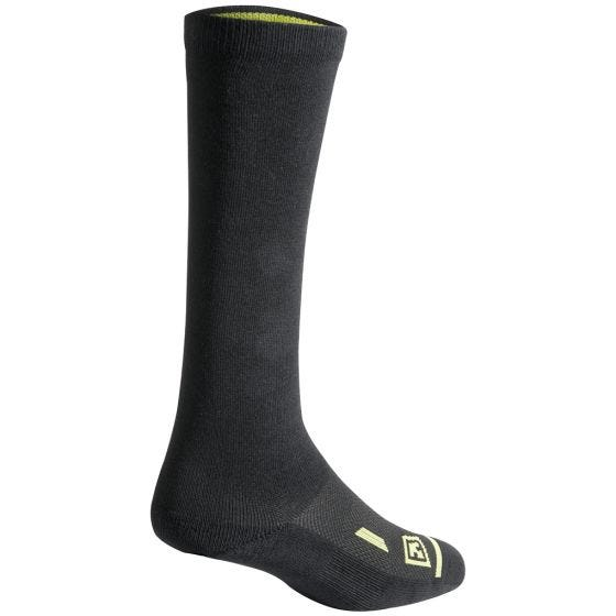 """First Tactical Cotton 9"""" Duty Sock 3-Pack Black"""