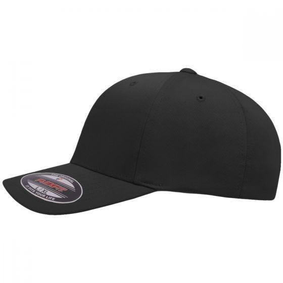 Flexfit Wooly Combed Cap Black/Grey