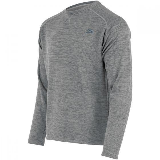Highlander Crew Neck Sweater Cool Grey