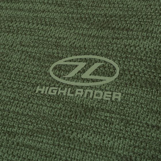 Highlander Crew Neck Sweater Leaf Green