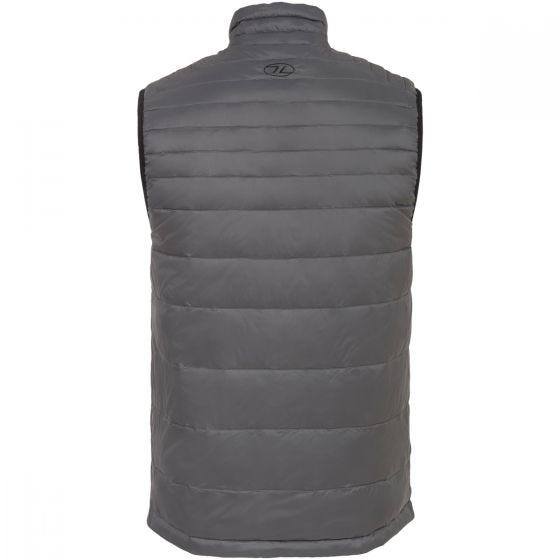 Highlander Reversible Gilet Black / Grey Slate