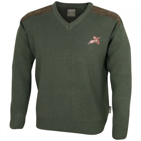 Jack Pyke Shooters Pullover Hunters Green