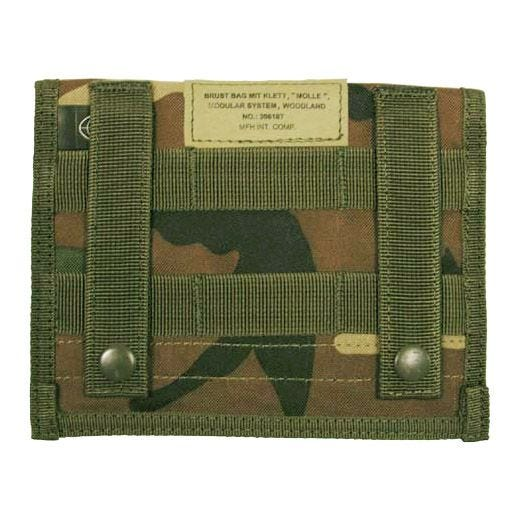 MFH Admin Pouch MOLLE Woodland
