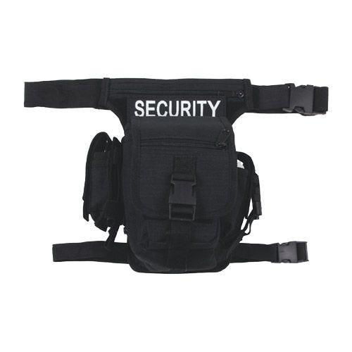 MFH Security Waist Bag Black