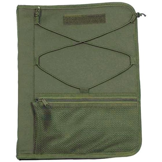 MFH Writing Case with Map Cover OD Green