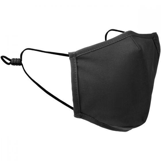 Mil-Tec Mouth/Nose Cover Square Shape Elastic Black