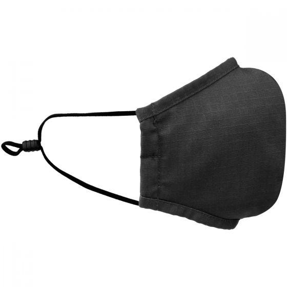 Mil-Tec Mouth/Nose Cover Wide Shape Ripstop Black