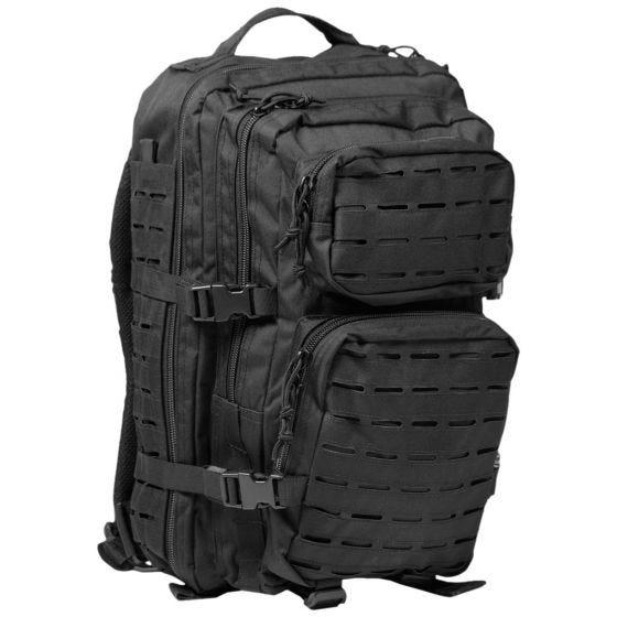 Mil-Tec US Assault Pack Large Laser Cut Black