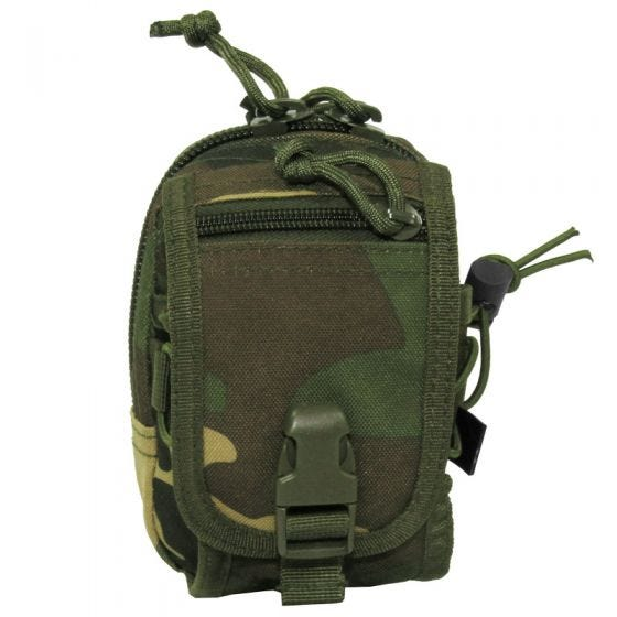 MFH Utility Pouch MOLLE Woodland