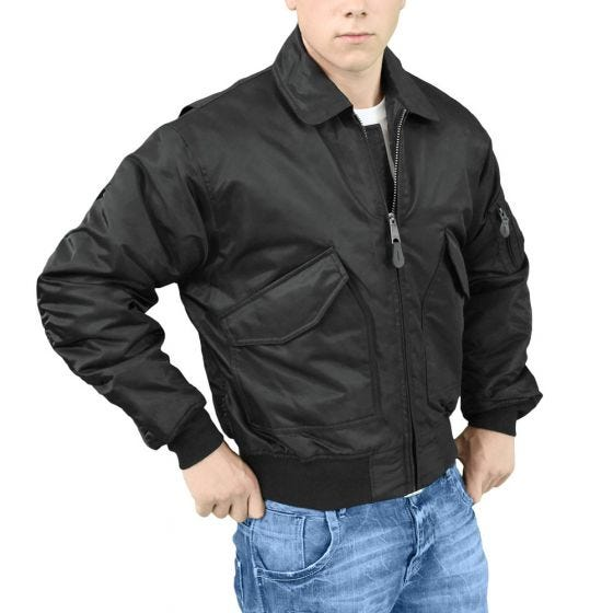 Surplus CWU Flight Jacket Black