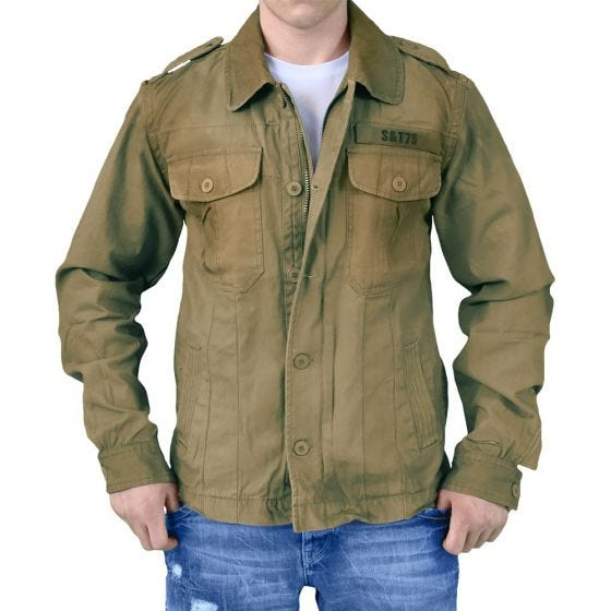 Surplus Heritage Vintage Jacket Olive