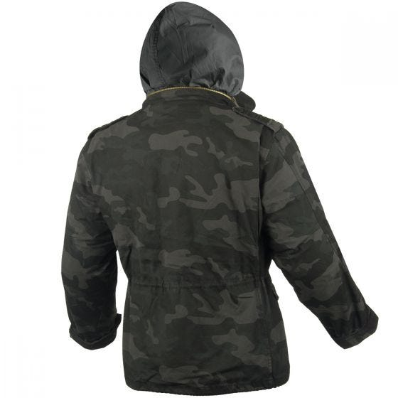 Surplus M65 Regiment Jacket Black Camo