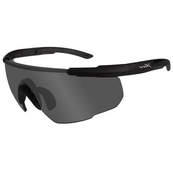 Wiley X Saber Advanced Glasses - Smoke Gray Lens / Matte Black Frame