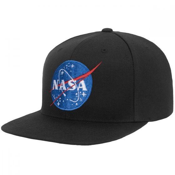 YP NASA Snapback Cap Black