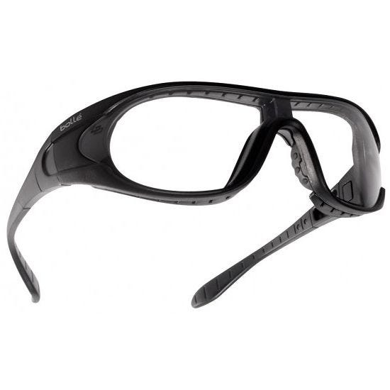 Bolle Raider Ballistic Spectacles - Clear + Smoke + Yellow Lens / Black Frame