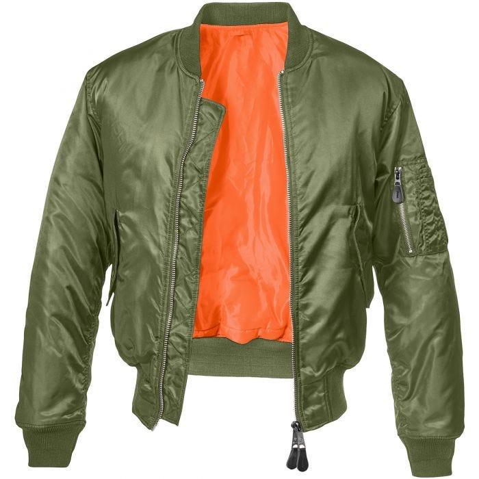 Brandit MA1 Jacket Olive