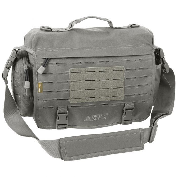 Direct Action Messenger Bag Urban Gray