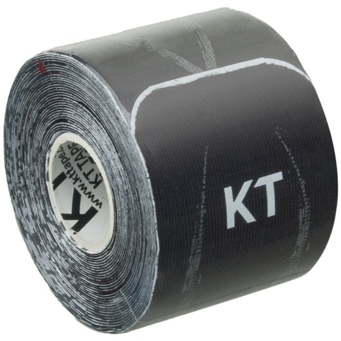"KT Tape Consumer Synthetic Pro Extreme Precut 10"" Jet Black"