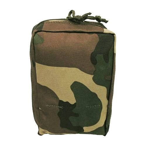MFH Medical First Aid Kit Pouch MOLLE Woodland