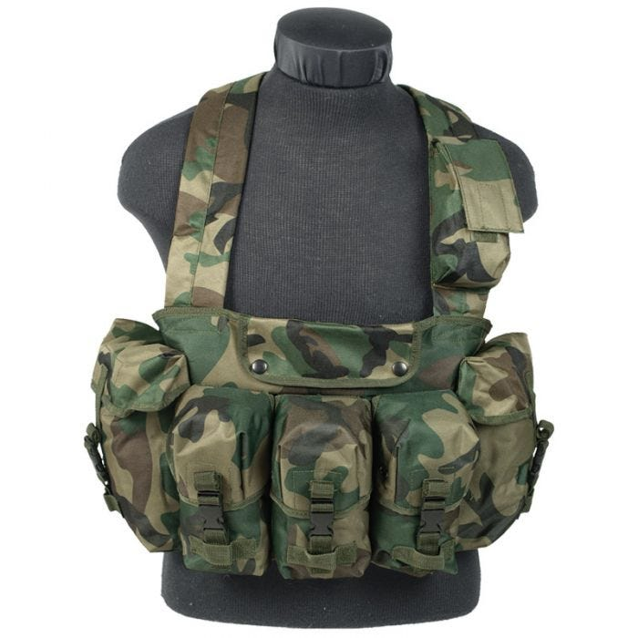 Mil-Tec Chest Rig Woodland