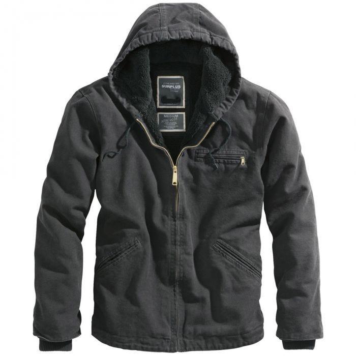 Surplus Stonesbury Jacket Black
