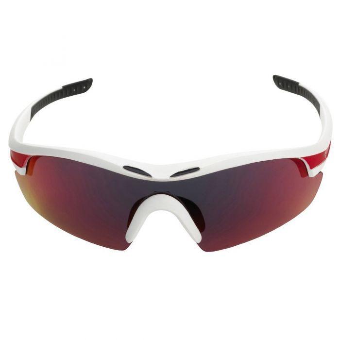 Swiss Eye Sunglasses Novena - 3 Lenses / White Matt Red Frame