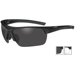 Wiley X Guard Advanced - Smoke Gray + Clear Lenses / Matte Black Frame