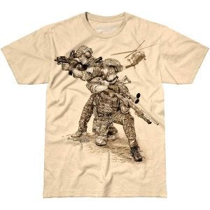 7.62 Design Compromised Extract T-Shirt Sand