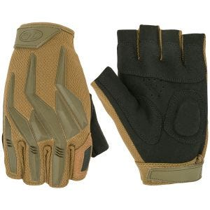 Highlander Raptor Fingerless Gloves Coyote Tan