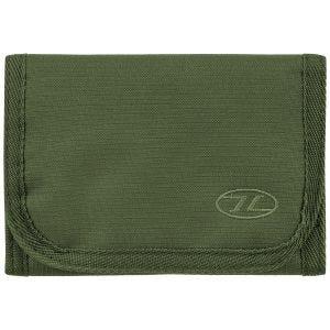 Highlander Shield RFID Wallet Olive