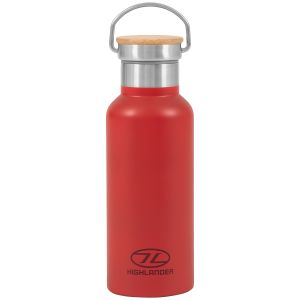 Highlander 500ml Campsite Bottle Red