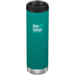 Klean Kanteen TKWide 591ml Insulated Bottle Cafe Cap Emerald Bay