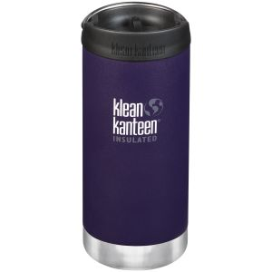 Klean Kanteen TKWide 355ml Insulated Bottle Cafe Cap Kalamata