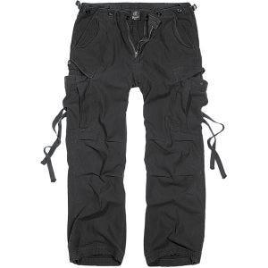 Brandit M-65 Vintage Trousers Black