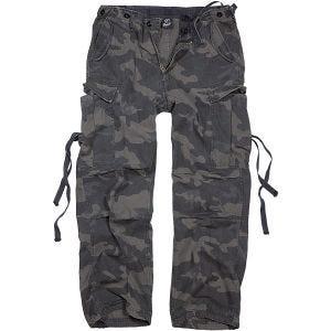 Brandit M-65 Vintage Trousers Dark Camo