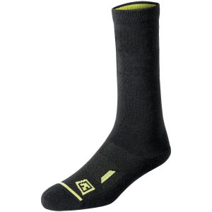 "First Tactical Cotton 6"" Duty Sock 3-Pack Black"