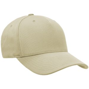 Flexfit 5 Panel Cap Khaki