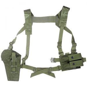 Flyye Shoulder Holster System Panel MOLLE Ranger Green