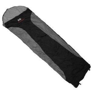 Fox Outdoor Ultralight Sleeping Bag Black / Grey