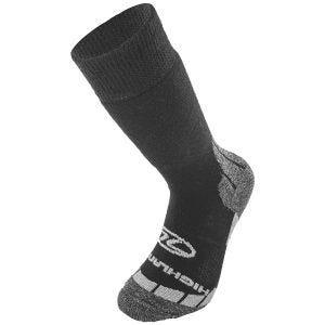 Highlander Base Wool Sock Black / Gray